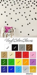 Black Wall Decal Dots 200 Decals Easy Peel Stick Safe On Walls Paint Removable Matte Vinyl Polka Dot Decor Round Circle Art Glitter Sayings Sticker