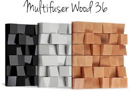 Vicoustic Multifuser Wood 36 (Diffusion)