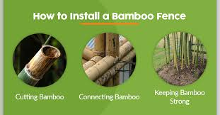 Creative Bamboo Fence Ideas Diy Bamboo Fencing Projects
