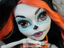 monster high skelita calaveras makeup