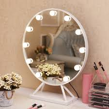 makeup mirror with base nordic style