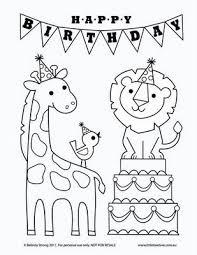 Kleurplaat Verjaardag Kleurplaten Digitale Stempels