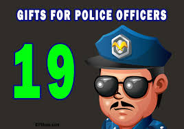 personalized gifts for police officers