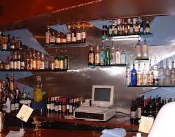 floating glass shelves for bar marc