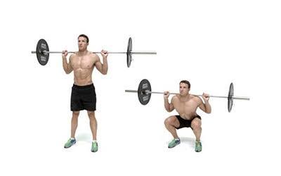 "Image result for Barbell squat"""