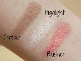 sleek makeup face form contour blush