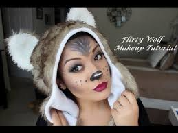 flirty wolf makeup tutorial you