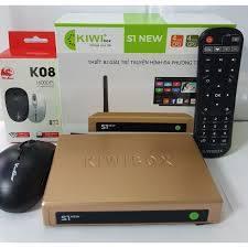 Android tivi Box Kiwi S1 New có Chuột không dây Bản mới 2020 Cập nhập HĐH  Android 5.0 - Sản phẩm chính hãng - Android TV Box, Smart Box Thương hiệu  Kiwibox