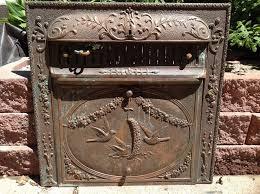antique victorian fireplace surround