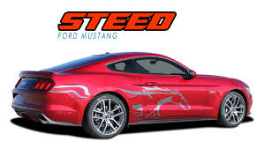 Steed Ford Mustang Stripes Mustang Decals Mustang Vinyl Graphics