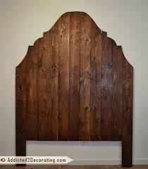Cheap And Easy Diy Headboard Made From Cedar Fence Pickets Finally Finished Addicted 2 Decorating