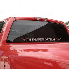 Texas Longhorns Automobile Decal Strip