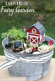 farm fresh fairy garden my frugal