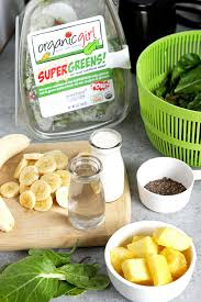 super green cleansing smoothie
