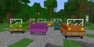 vanilla vehicles addon minecraft