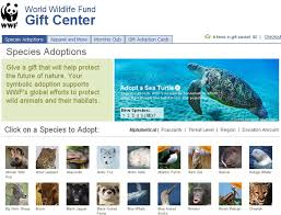 wwf invites facebook users to adopt an