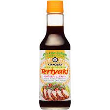 kikkoman less sodium teriyaki marinade