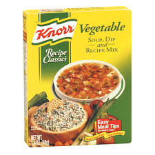 knorr vegetable recipe mix 1 4 oz box