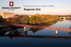 Benjamin Adam Eich | Commencement 2020 | Indiana University