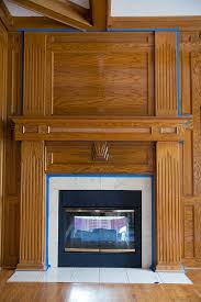how to paint a fireplace the makerista