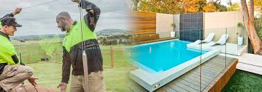 glass fence around your pool