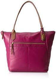 qoo10 fossil fiona tote bag bag