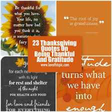 thanksgiving quotes on being thankful and gratitude