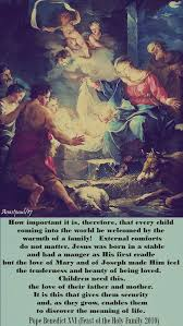 quote s of the day feast of the holy family of