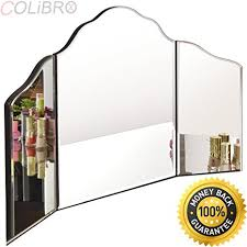 large trifold vanity mirror