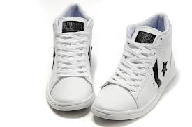 converse high tops black leather
