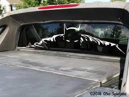 Rear Window Batman Truck Decal Custom Sizes Many Colors Etsy