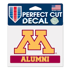 University Of Minnesota Car Decals Decal Sets Minnesota Golden Gophers Car Decal C Bigtenstore Com