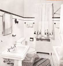 1940s home decor bathroom style
