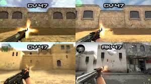 COMPARISONS ALL GUNS: CS:1.6 - CS:CZ ...