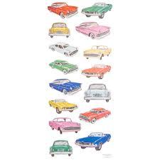 Vintage Car Stickers Hobby Lobby 1344373