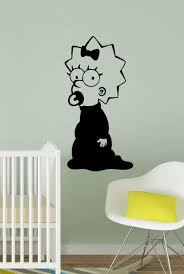 Streetwall Wall Decal The Simpsons Maggie