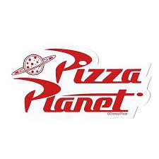 Disney Window Decal Pizza Planet