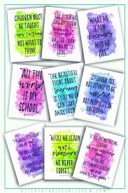 inspirational quotes for teachers the kitchen table classroom