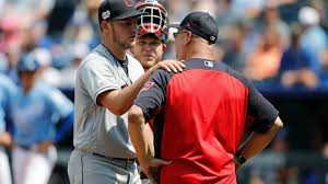 Ap Source Bauer Fined By Mlb For Ball Heave Abc News