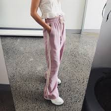 ruby ruby pink corvette pants on