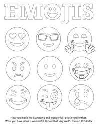Emojis Bible Verse Coloring Page Free Kleurplaten Emoji