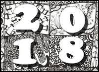 Kleurplaten Voor Volwassenen Nieuwjaar 2018