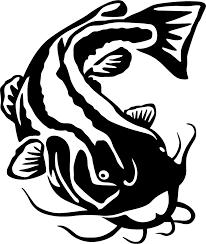 Flathead Catfish Wall Decal