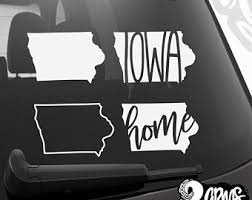 Iowa Sticker Etsy