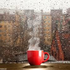 صور نافذة وقهوة ومطر فهرس