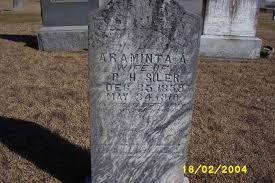 Araminta A. Siler (Fox) (1859 - 1910) - Genealogy