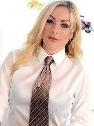 Penny Lee in 2020 | Women wearing ties, Girls white shirt, White shirts  women