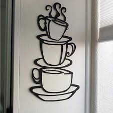 2015 Removable Diy Kitchen Decor Coffee House Cup Decals Vinyl Wall Sticker Walmart Com Walmart Com