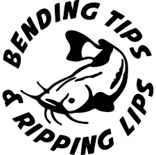 Bending Tips Ripping Lips Decal Sticker Thriftysigns