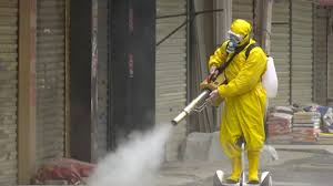 On the Scene | Disinfection at Wuhan's old town complex amid the ...